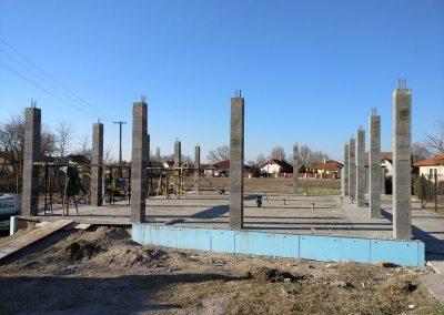 beton pillérváz